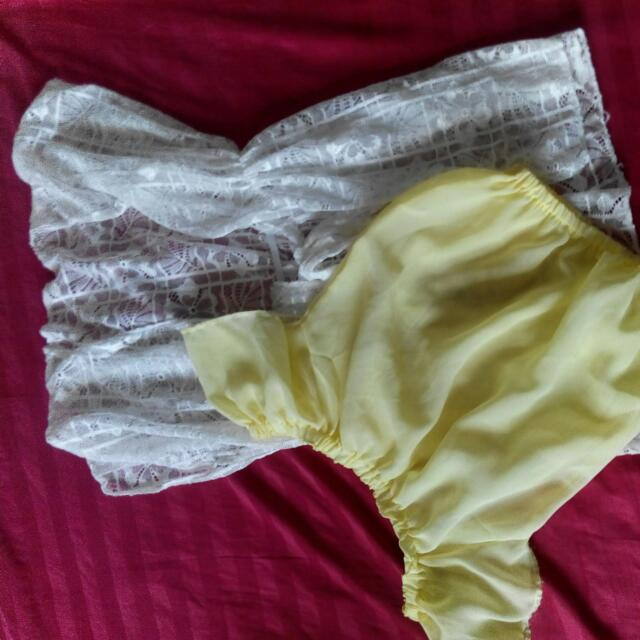 Take All Girl Cover Up & See Through Blouse