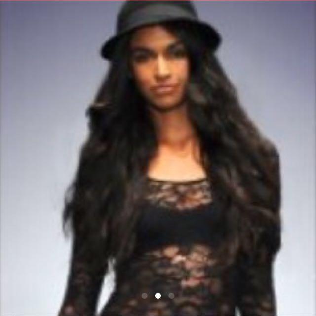Talula Grey Lace Dress / Long Tunic Top From Aritzia XXS
