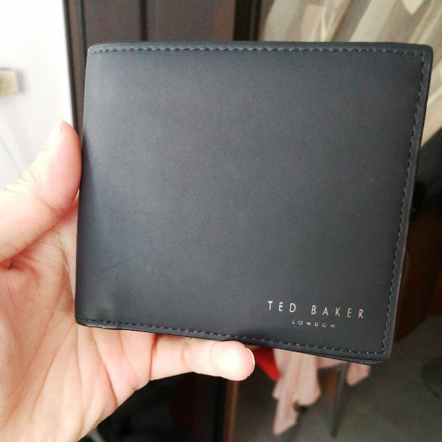 fb098262b Ted Baker Wallet (8cc) dark blue
