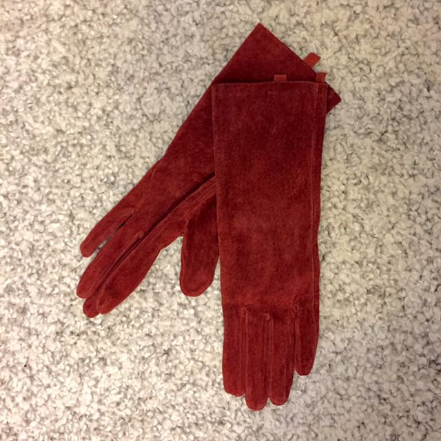 Terra Cotta Gloves (small Fit)