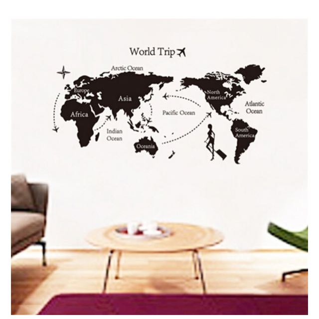 The World Map Wallpaper
