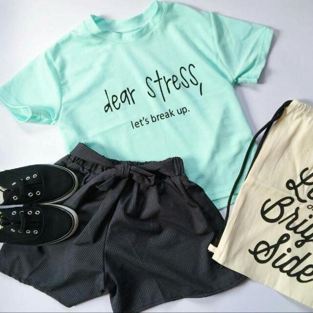 Trendy Top And Short