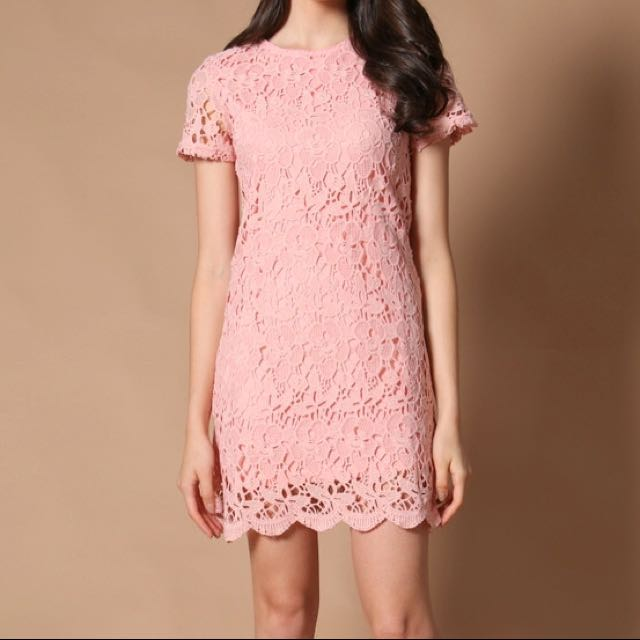 TSW Rhoda Crochet Dress S