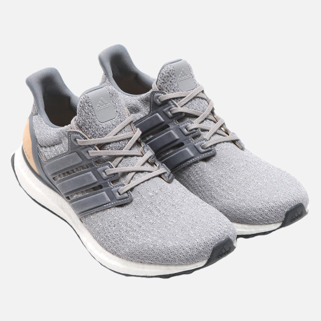 933d0b543a7d3 adidas UltraBOOST 3.0 LTD Grey Leather Cage - US 9   UK 8.5   EU 42⅔ (In  Stock)