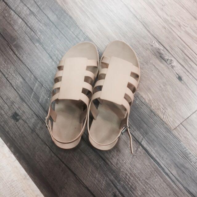 Unbranded Nude Sandal Size 38