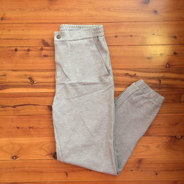 Uniqlo Grey Jogger Pants