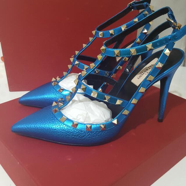 Valentino Rockstud Heels 40.5 Brand New In Box
