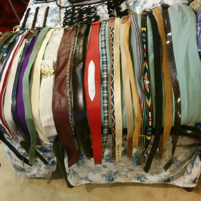 Women's Belts With Hangers