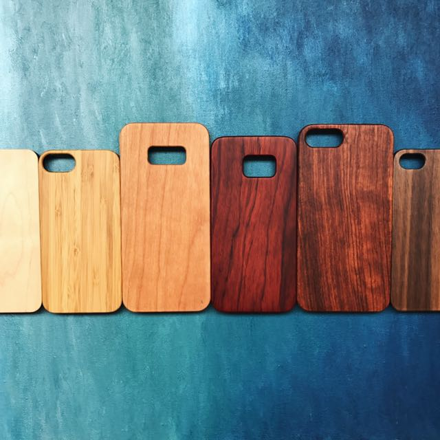 Wood case for iPhone and Samsung