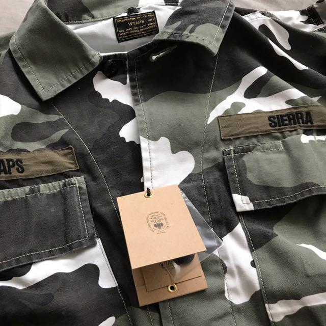 WTAPS Camo Jacket