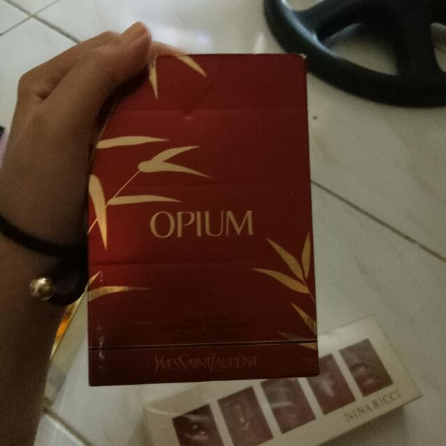 Repriced! Authentic Yves Saint Laurent - Opium Perfume