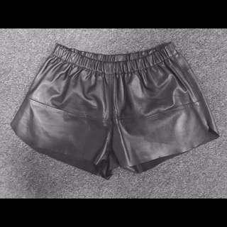 Urban Renewal Leather shorts