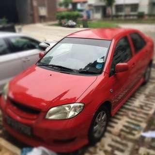 Toyota Vios 1.5A COE till 08/2025