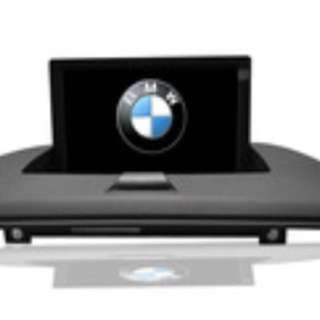 BMW X3 E83 Car Audio Display With GPS And Remote Control