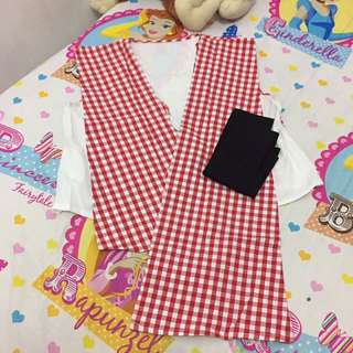 Red And White Outer