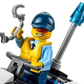 Lego City 60126 Police Tire Escape
