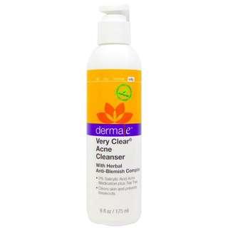 Derma E, Very Clear Acne Cleanser, 175ml