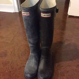 Hunter Black Rain boots