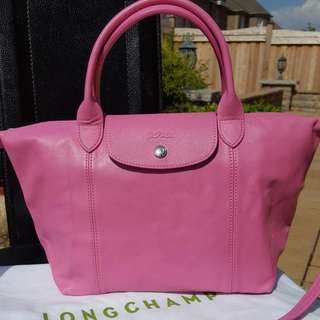 Full Leather Longchamp Bag