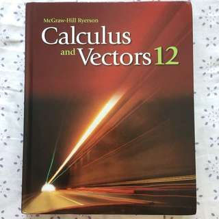 Calculus and Vectors (Mcgraw Hill)