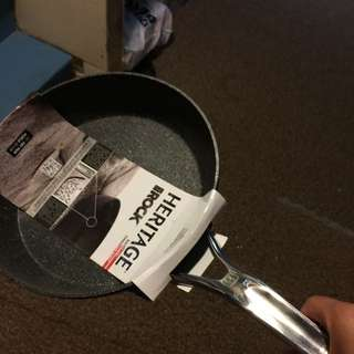 brand new heritage rock non stick frying pan