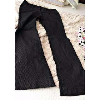 Limite Black Stripe Pants  9/10 condition. Fits Small to medium