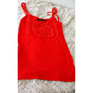 Red Top  Fits Small to Medium