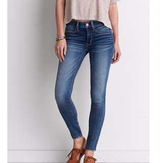 AE soft jeans size 8 .