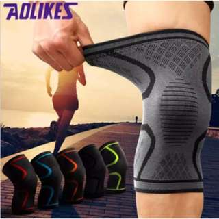 Aolikes Knee Support Braces Elastic Sports Compression Fitness Running Cycling Yoga Basketball Volleyball