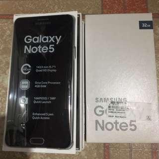 Samsung Galaxy Note 5 Duos Globelocked
