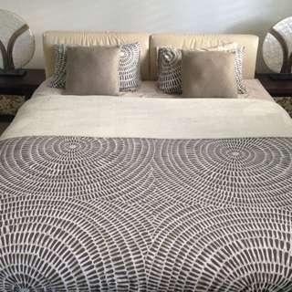 Designer King Bed
