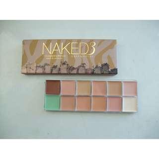 Naked3 12 Longlasting Makeup Cover Corrector