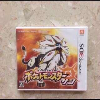 Nintendo 3DS Pokemon Sun Japan