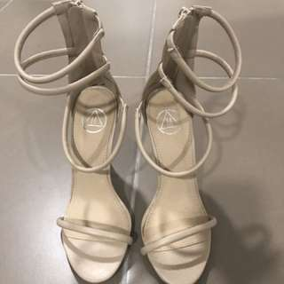 Size 7 New Missguided Nude Heels