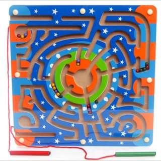 Children Magnetic Maze