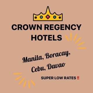 Crown Regency 5-star Hotel Accomodation