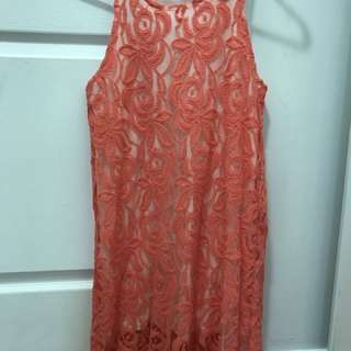Lace Dress Size:small
