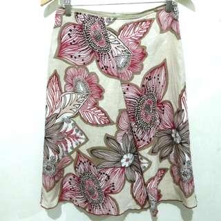Benetton floral skirt / rok