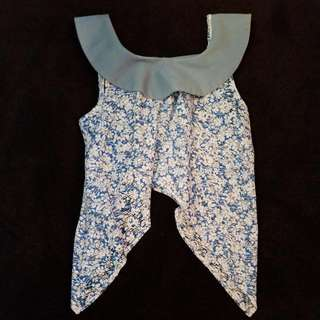 tie up crop top