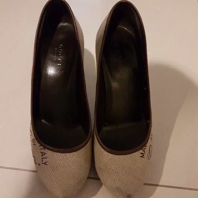 100% Authentic Gucci Heels