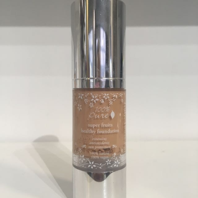 100% Pure Foundation - Peach Bisque