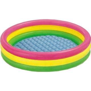3 Ring Pool (Pink/Yellow/Green) 60cm