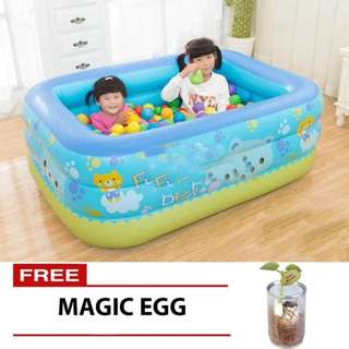 1.5 Inflatable Swimming Pool with Free Magic Egg
