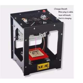 NEJE miniature mini laser engraving machine 1000mw