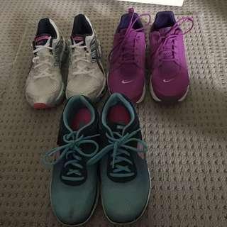 Assorted Sneakers