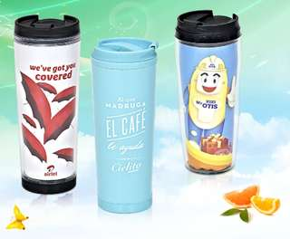 380mL Straight Tumbler with Paper insert