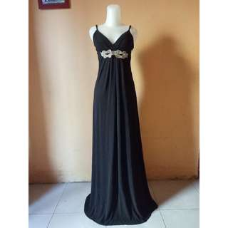 Maxi Dress - Party Dress SecondHand Hitam