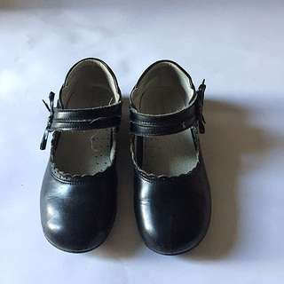 Leather Classic Shoes For Little Girl