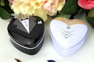 Groom and Bride Candy Box