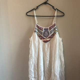 White Playsuit NEVER WORN